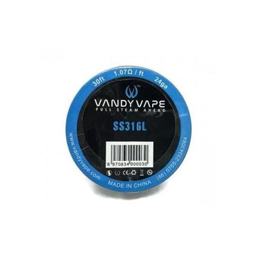 Vandy Vape SS316L Wire 24ga-Vaping Products-Vandy Vape-Stop n Vape