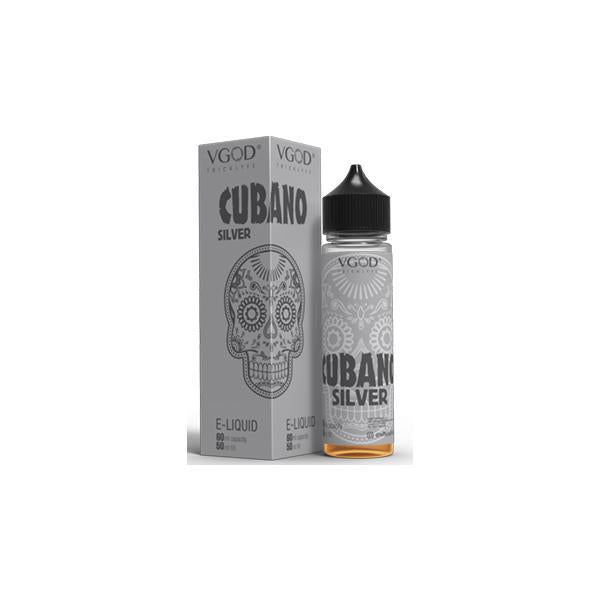VGOD 0mg 50ml Shortfill (70VG/30PG)-Vaping Products-VGOD-Cubano Silver-Stop n Vape