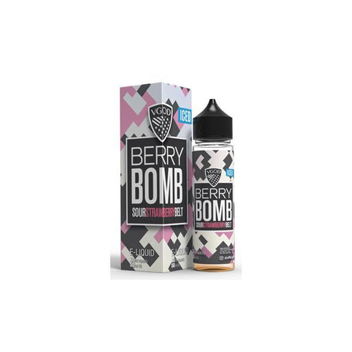 VGOD Bomb Line ICED 0mg 50ml Shortfill (70VG/30PG)-Vaping Products-VGOD-Berry Bomb ICED-Stop n Vape