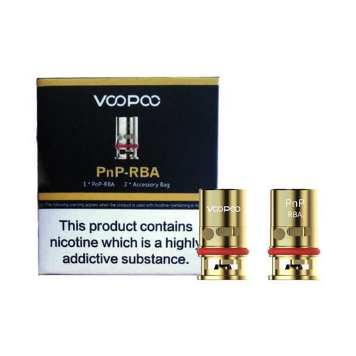 Voopoo PnP-RBA Replacement Coil-Vaping Products-Voopoo-Stop n Vape