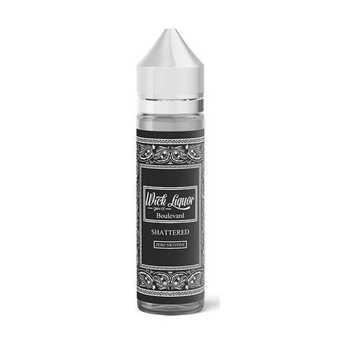 Wick Liquor Shattered 0mg 50ml Shortfill (80VG/20PG)-Vaping Products-Wick Liquor-Boulevard-Stop n Vape