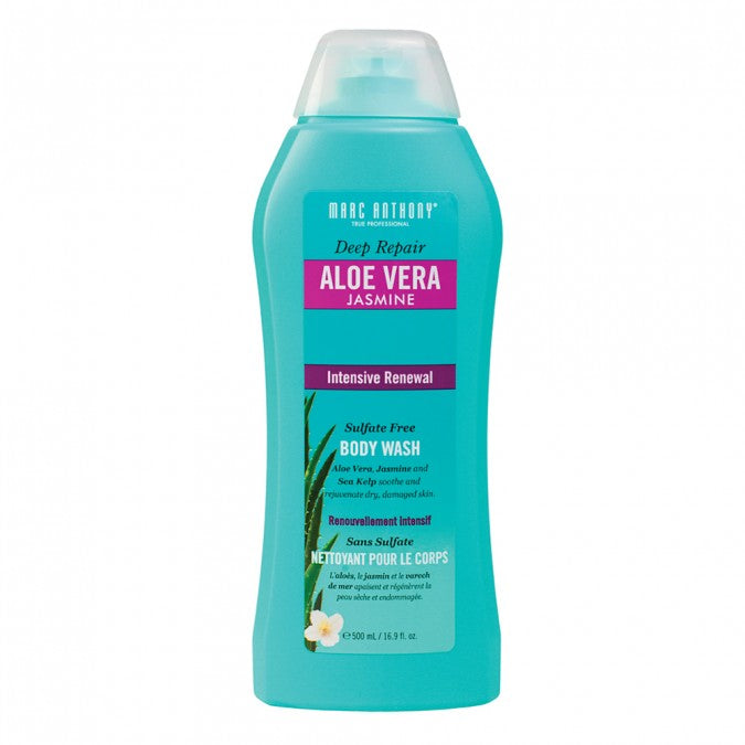 Deep Repair Aloe Vera Jasmine Sulfate Free Body Wash 500ml
