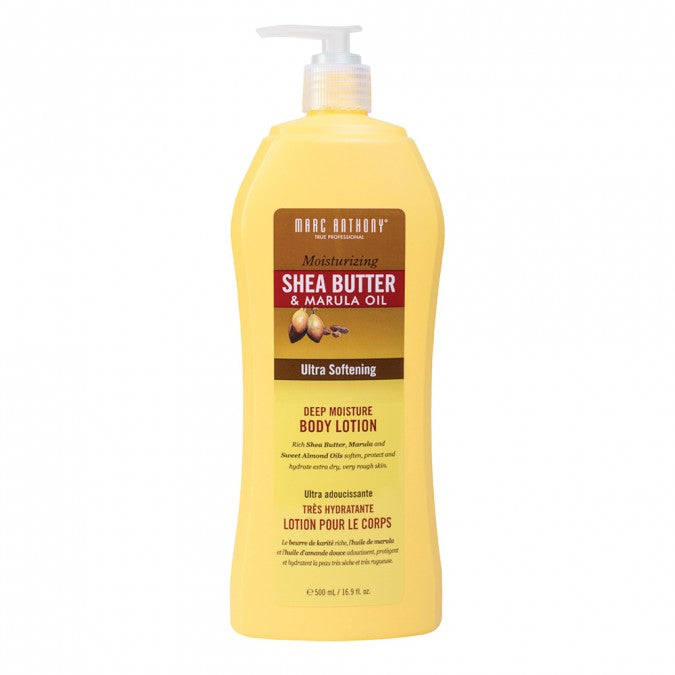 Moisturising Shea Butter & Marula Oil Body Lotion 500ml