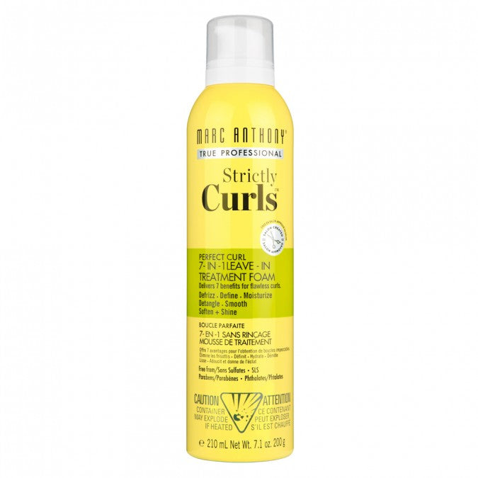 Strictly Curls Perfect Curl 7 in 1 Treatment Foam 250ml