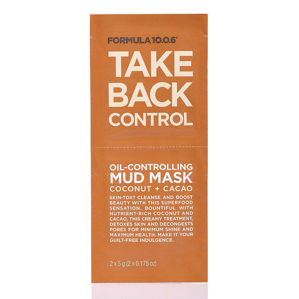 Take Back Control Mud Mask 2 x 5g Sachets