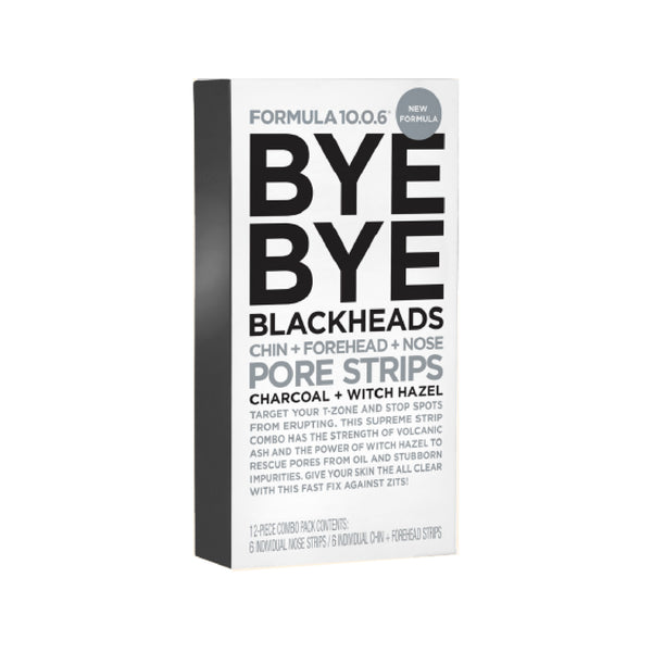 Bye Bye Blackheads Chin, Forehead and Nose Pore Strips
