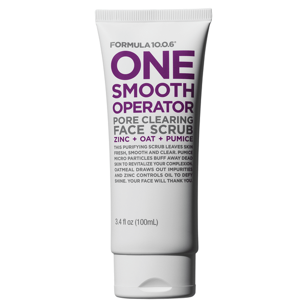 One Smooth Operator Pore Clearing Face Scrub