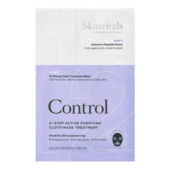 Control 2-Step Purifying Cloth Mask Treatment