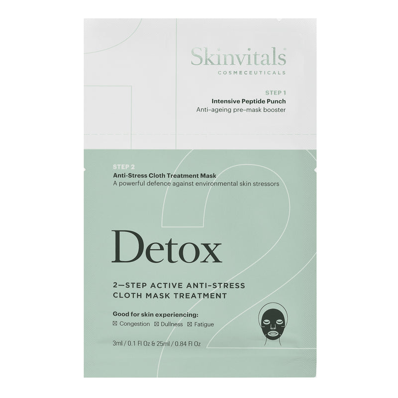 Detox 2–Step Anti-Stress Cloth Mask Treatment