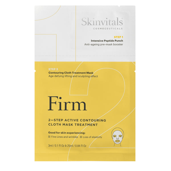 Firm 2-Step Contouring Cloth Mask Treatment