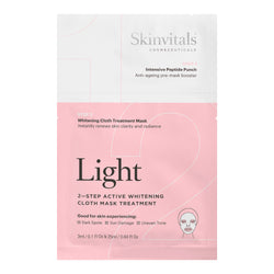 Light 2–Step Whitening Cloth Mask Treatment
