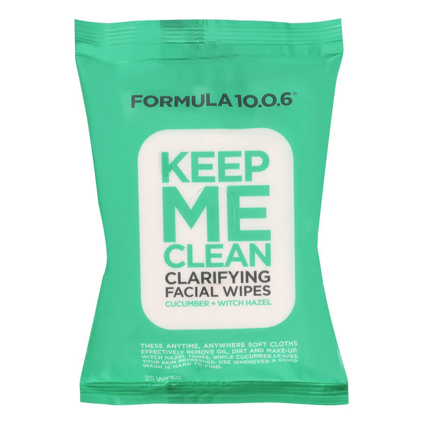 Keep Me Clean Clarifying Facial Wipes