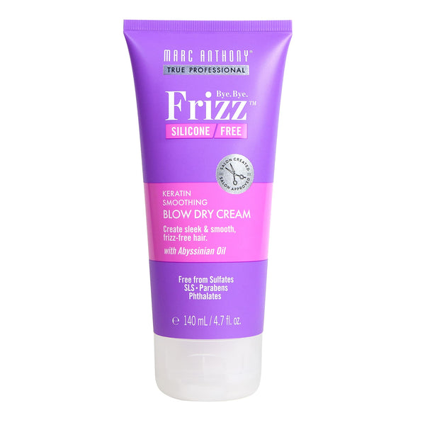 Bye Bye Frizz Keratin Smoothing Blow Dry Cream