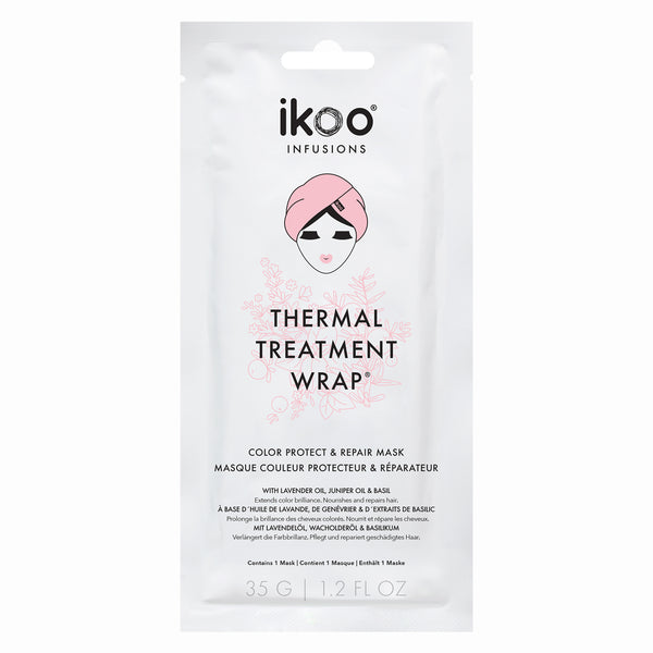 Ikoo Thermal Treatment Wrap Color Protect & Repair Mask