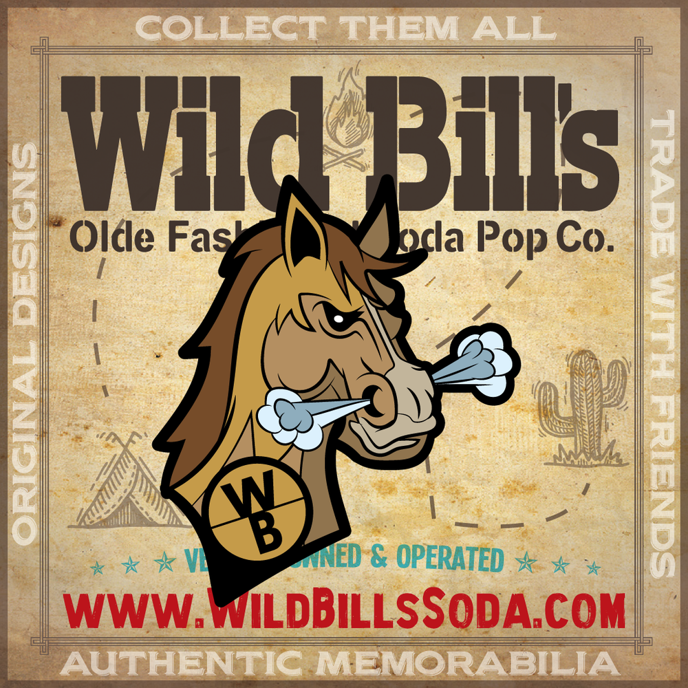 Wild Bill's Limited Edition Pin Set V1 - Wild Bill's Craft Beverage Co.