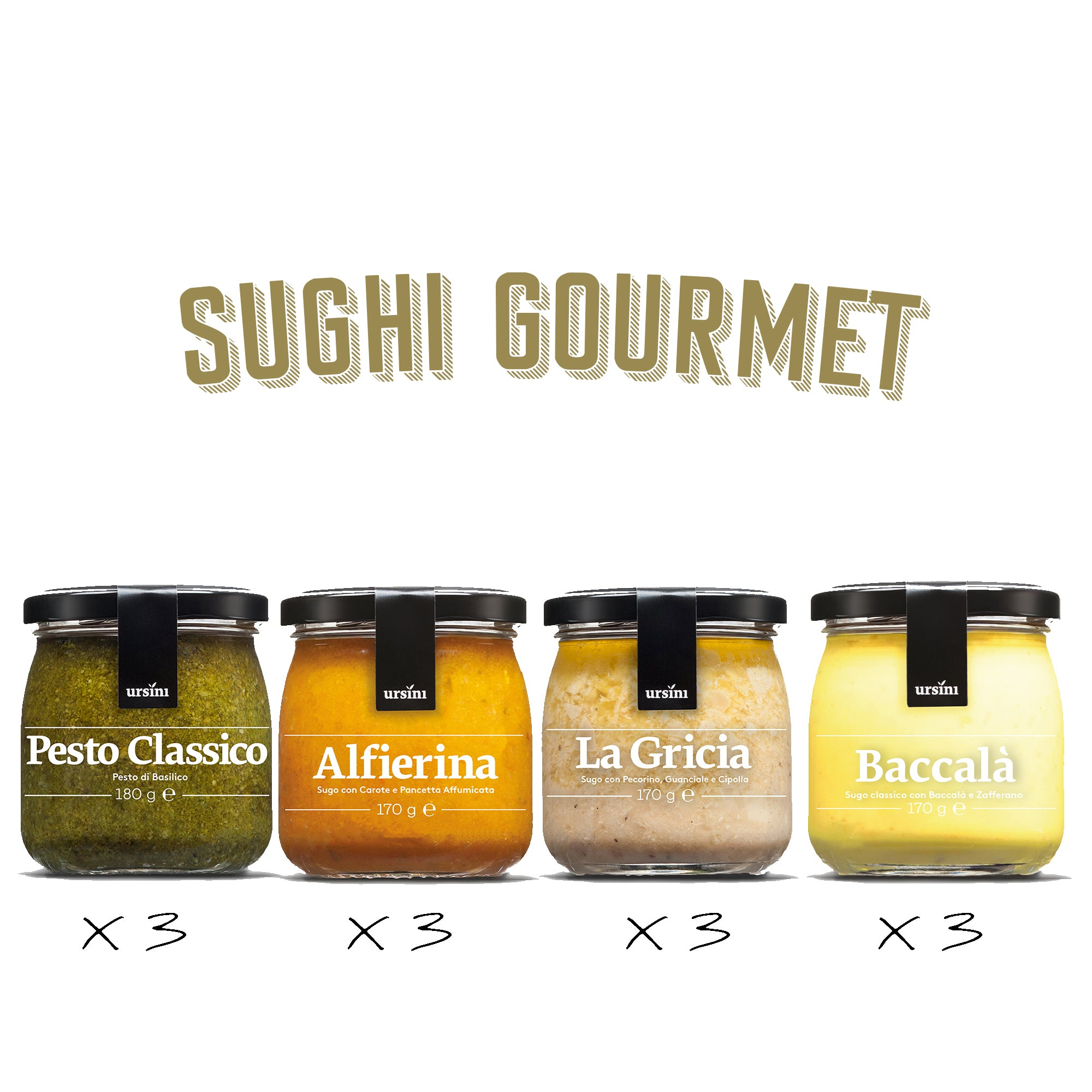 "Sughi Gourmet ""MEDIUM"""