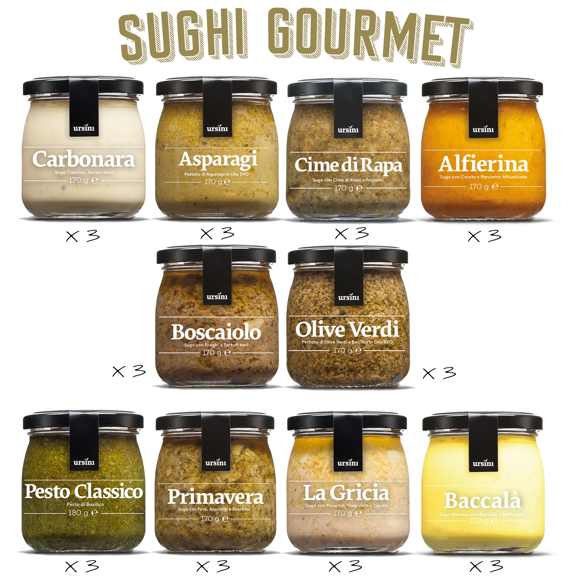"Sughi Gourmet ""EXTRA LARGE"""