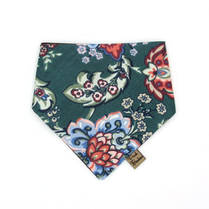 Winter Floral Dog Bandana