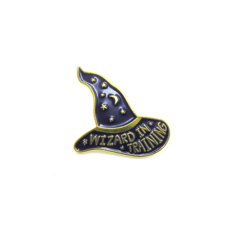 Wizard In Training Pin Badge