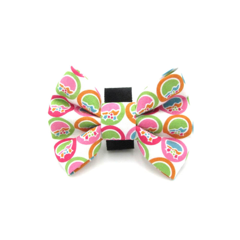 Baubles Christmas Dog Bow Tie
