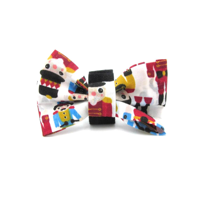 Nutcracker Christmas Dog Bow Tie