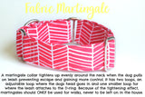 Feminine Winter Dog Collar - Pink Coordinating Loop
