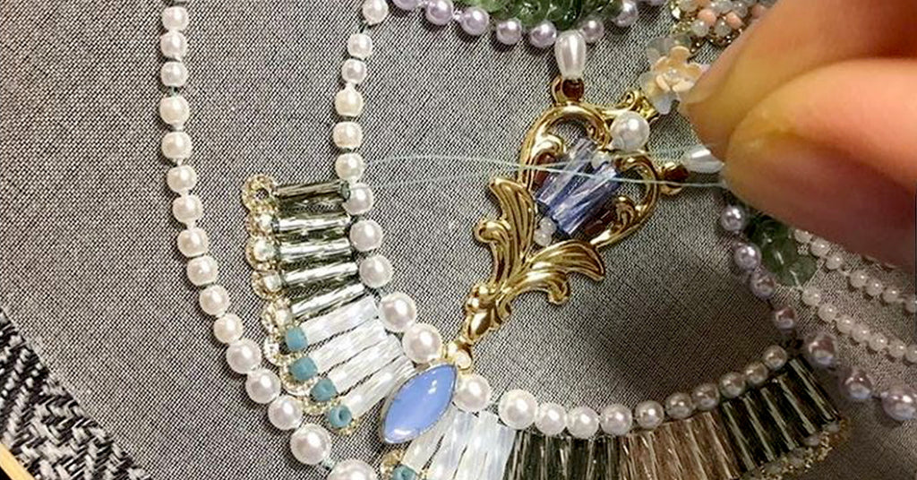 Bead Embroidery: The Perfect Combination of Jewelry and Craft