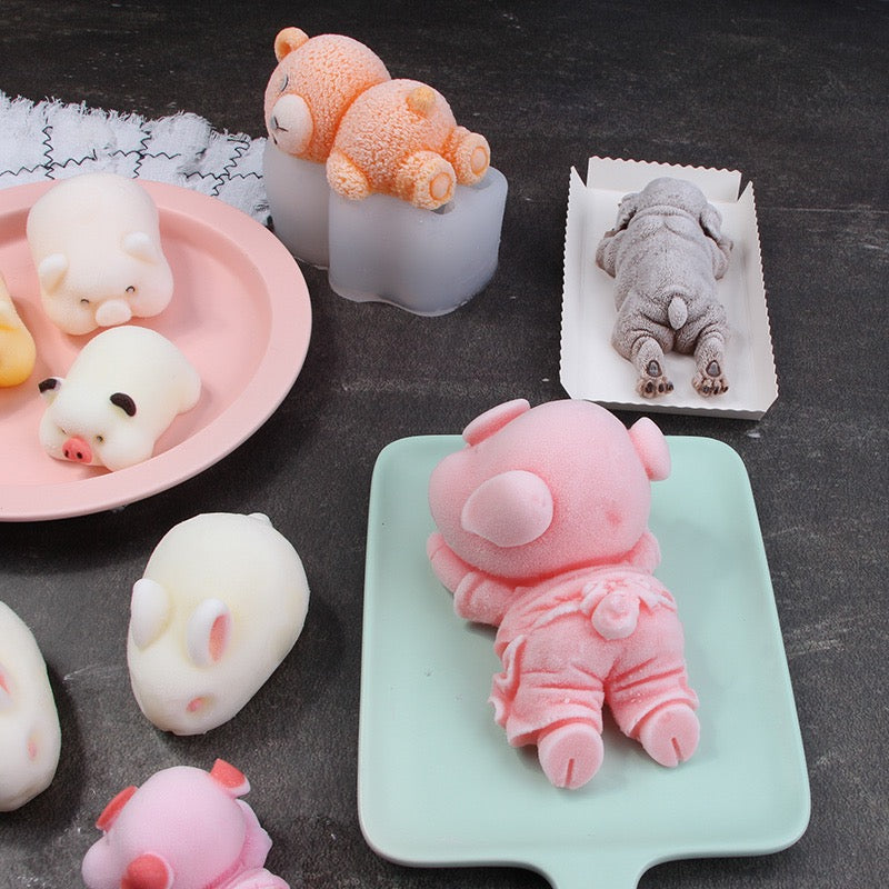 Cartoon Animal DIY Creative Baked Ice Cube Model ( BUY 2 GET 1 FREE)
