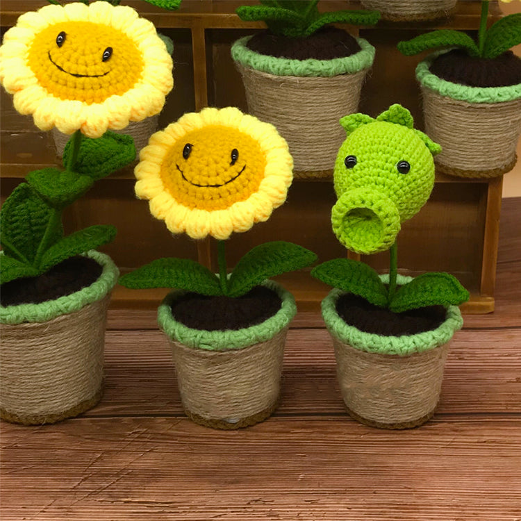 Plants vs. zombies Series knitting  Ornaments [Pre-sale]