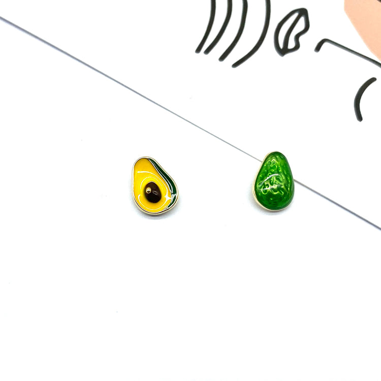 Avocado Stud Earrings