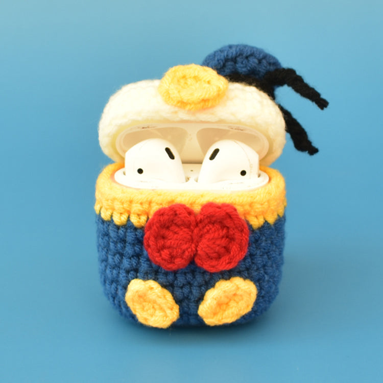 Donald Duck Knitting AirPods Case Cover