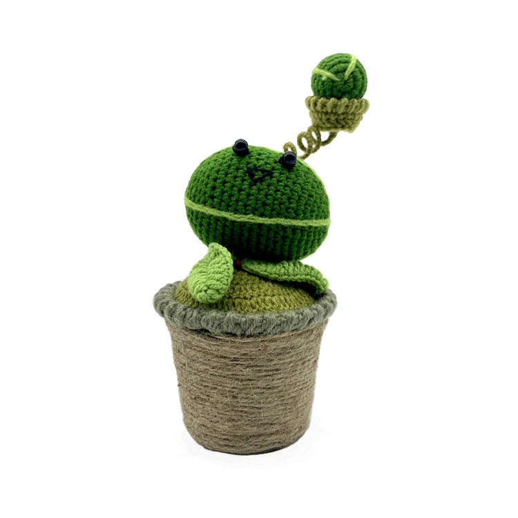Melon-Pult Kniting Doll Decor