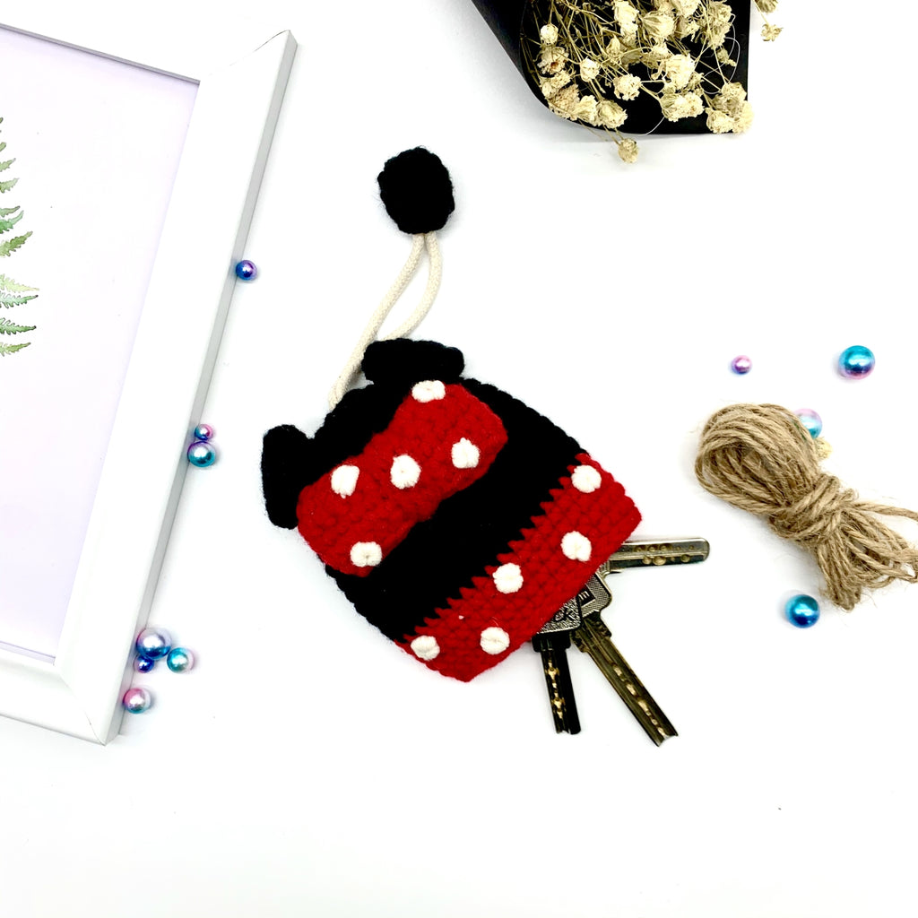 Mickey Knitting Key Chains