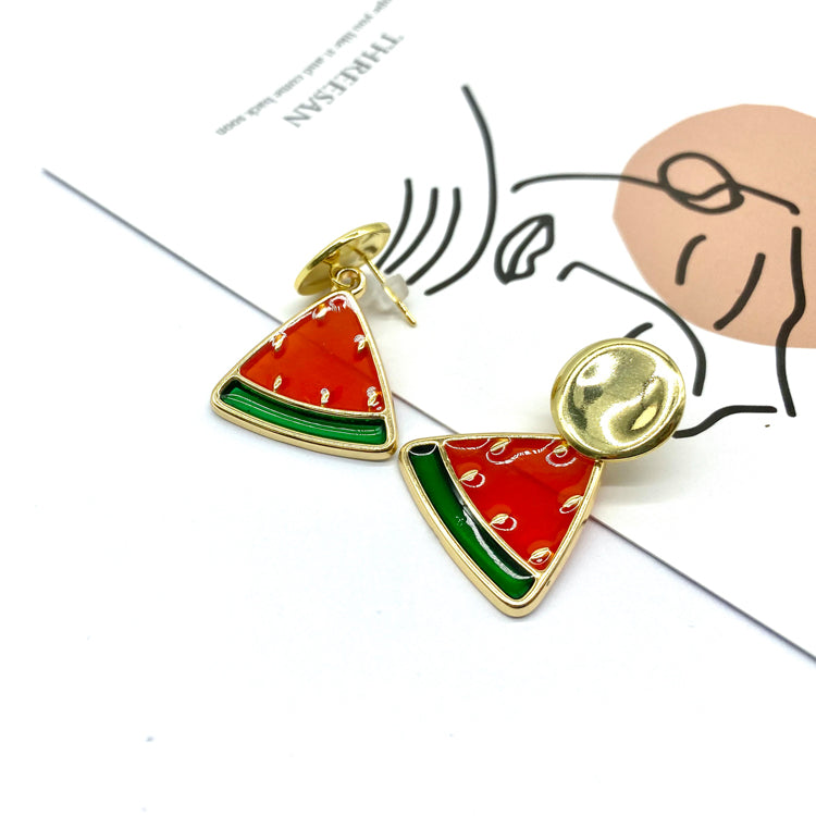 Watermelons Stud Earrings