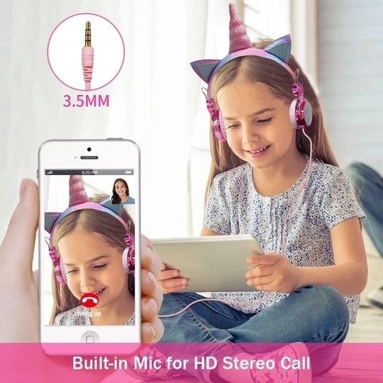 UNICORN HEADPHONE WITH MIC
