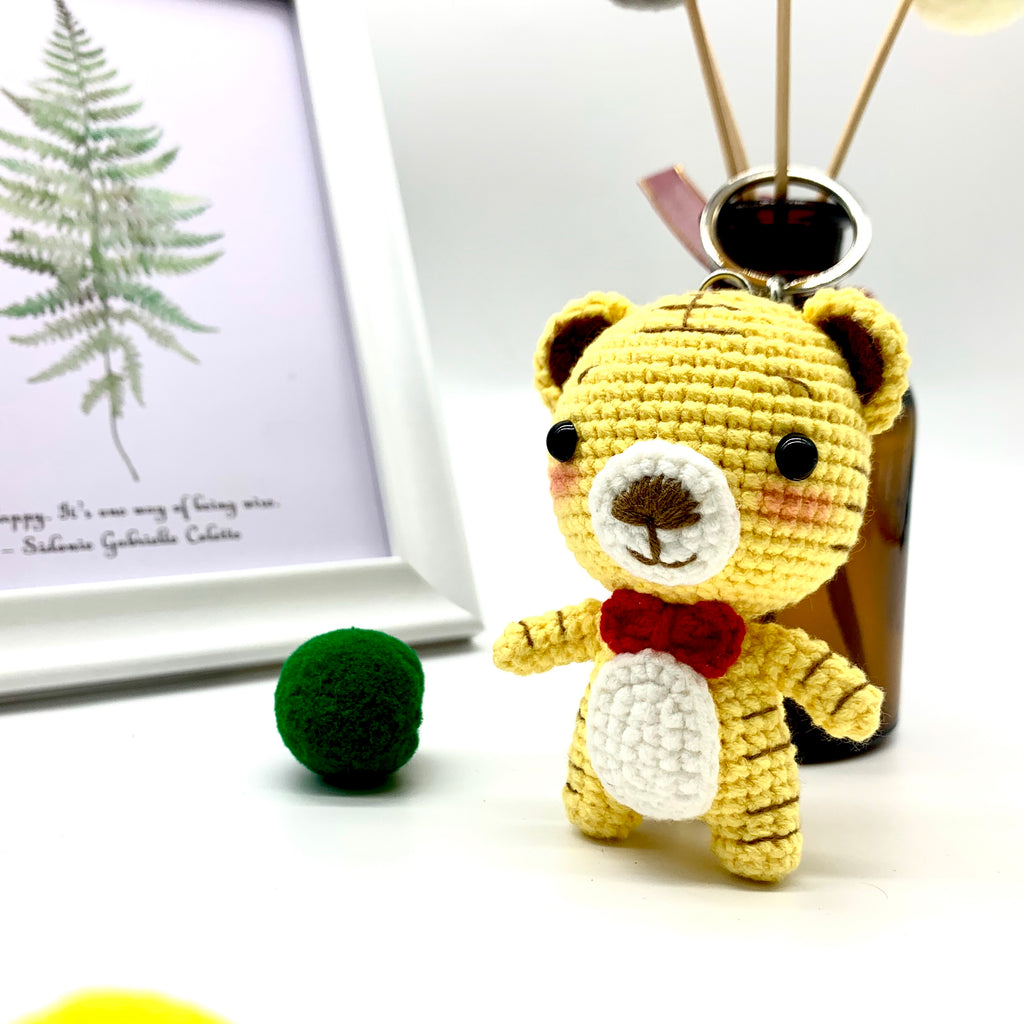 Tiger Knitting Dolls