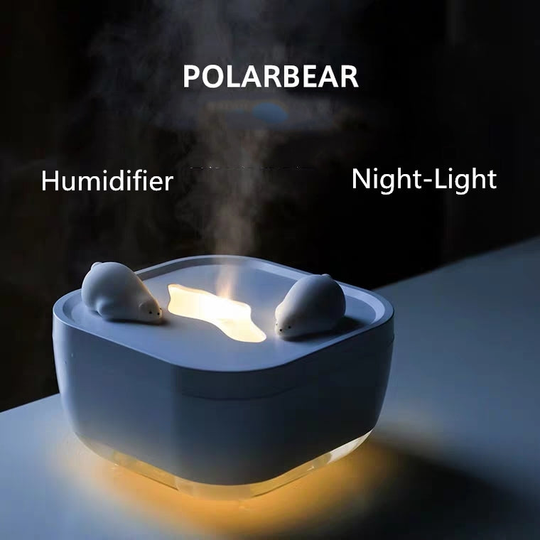 Polar Bear Ultrasonic Cool Mist Humidifier