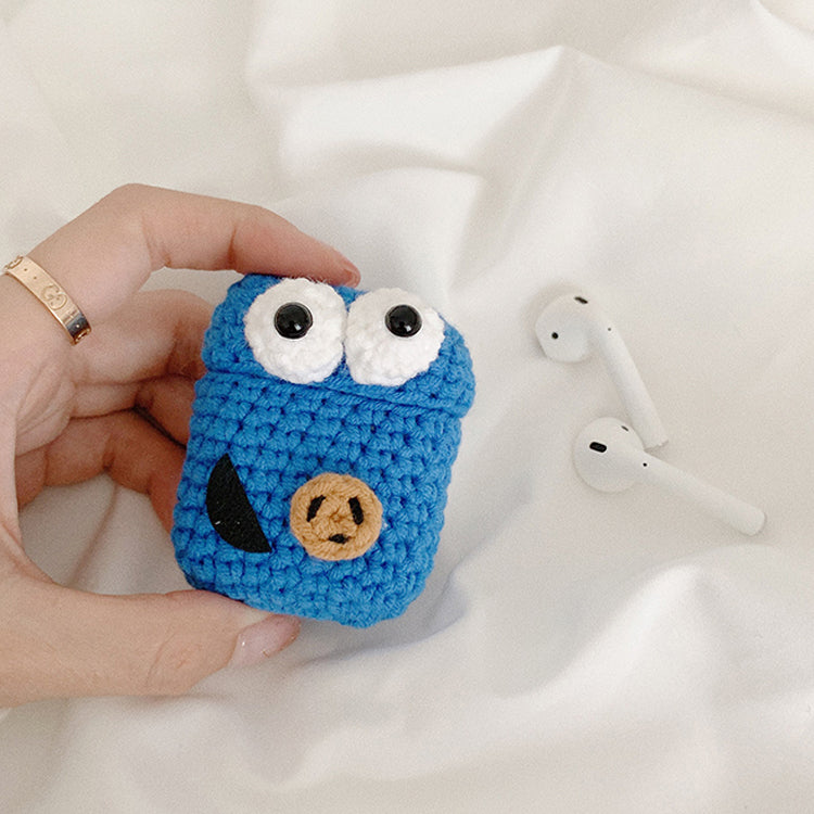 Cartoon Knitting AirPods Case Cover
