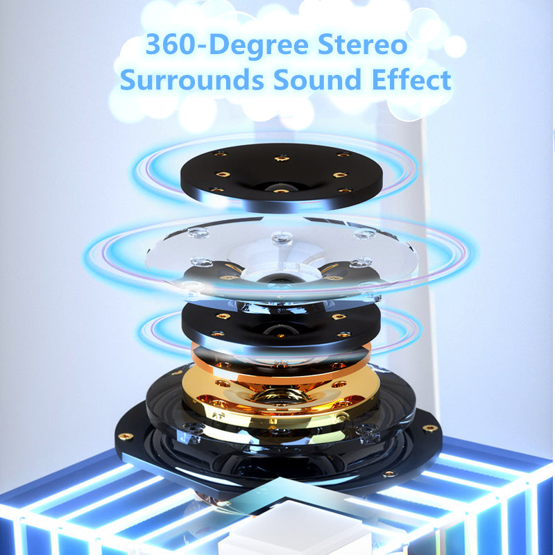 Portable StarDrone wireless Bluetooth Speakers