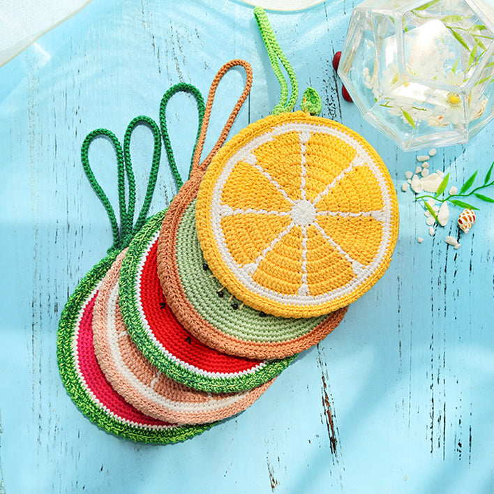 Fruits Knitting Handbag [Pre-sale]