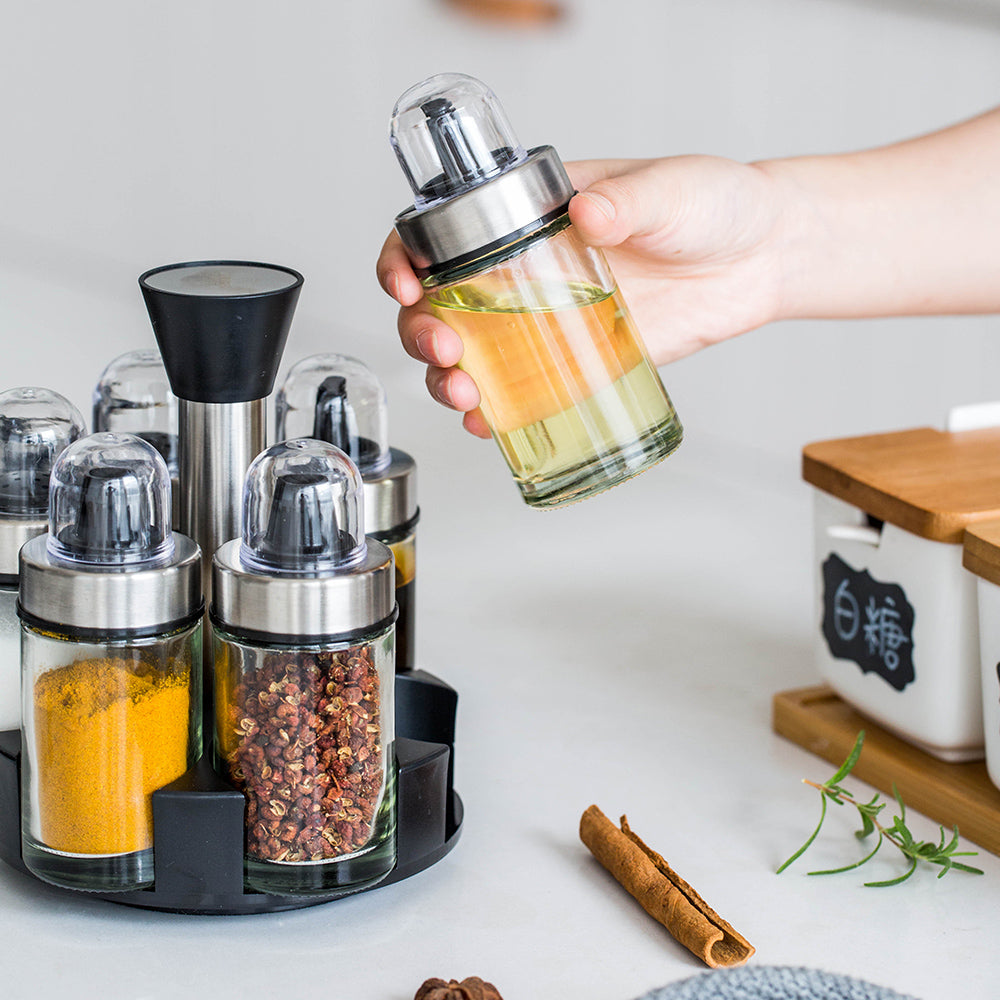 Rotary Spice Bottles