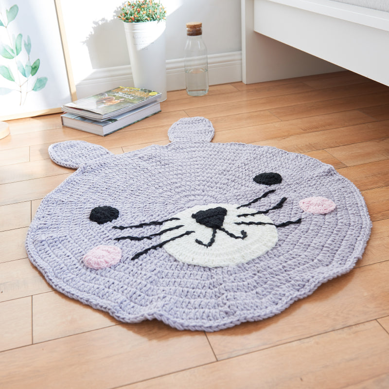Cartoon Hand-Knitting Carpet
