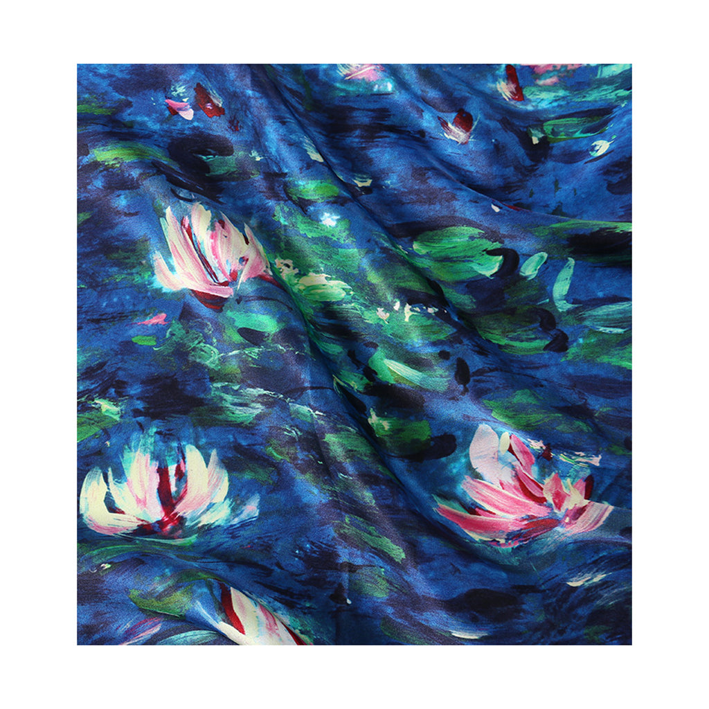 NYMPHEAS Silk Scarves