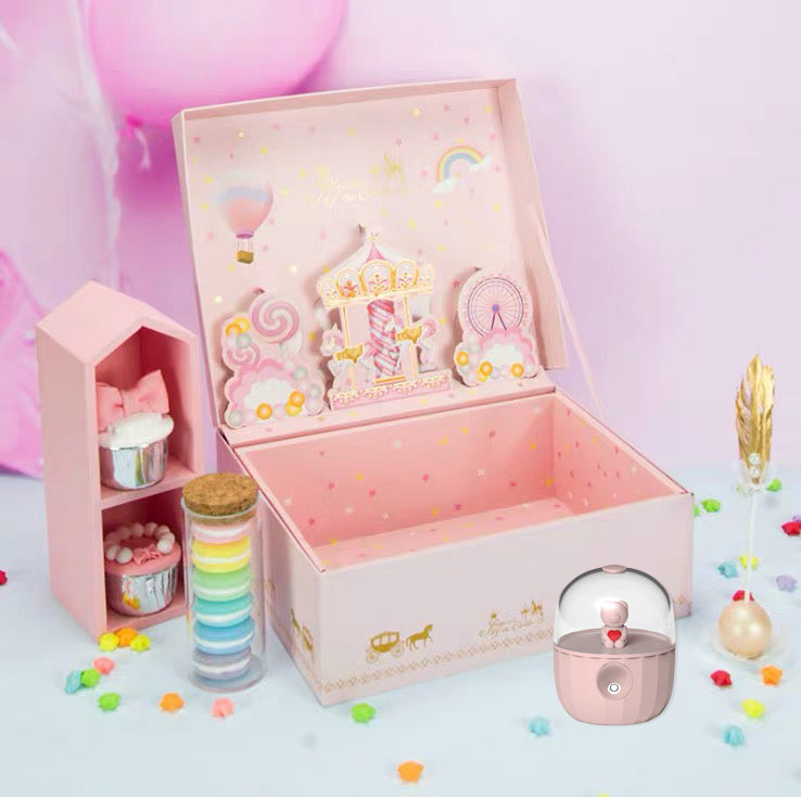 Cute Cartoon Cool Mist Humidifier Gift Set