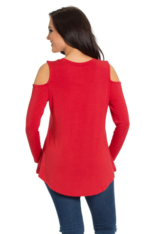 The Courtney Cold Shoulder