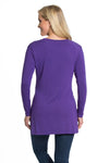Kansas State Wildcats Marie Side Slit Tunic