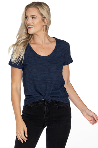 The Bella Scoop Neck Tee