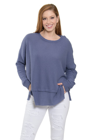 The Serena Snap Sleeve Tunic