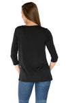 Purdue Boilersmakers Lylah Twist Front Top