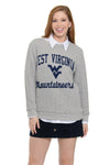 West Virginia Mountaineers Embroidered Jenny Sweatshirt